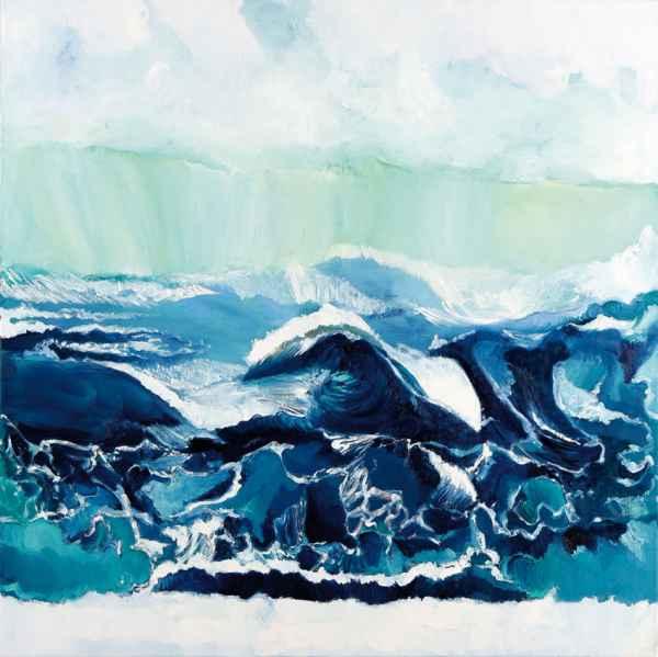 Wellenlandschaft