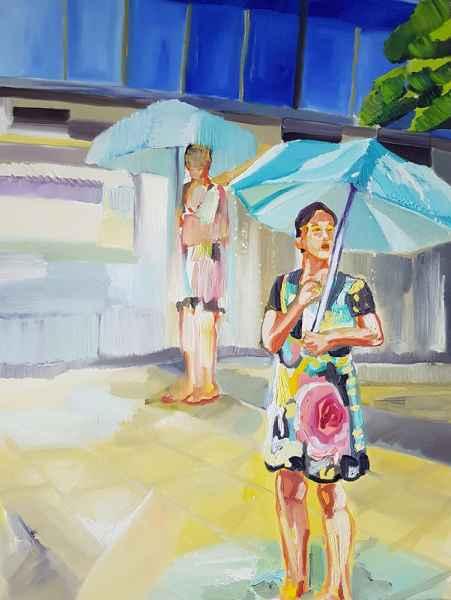 Sommer Regen